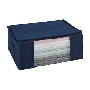 Cutie depozitare vacuum Wenko Air, 50 x 65 x 25 cm, albastru bonami.ro