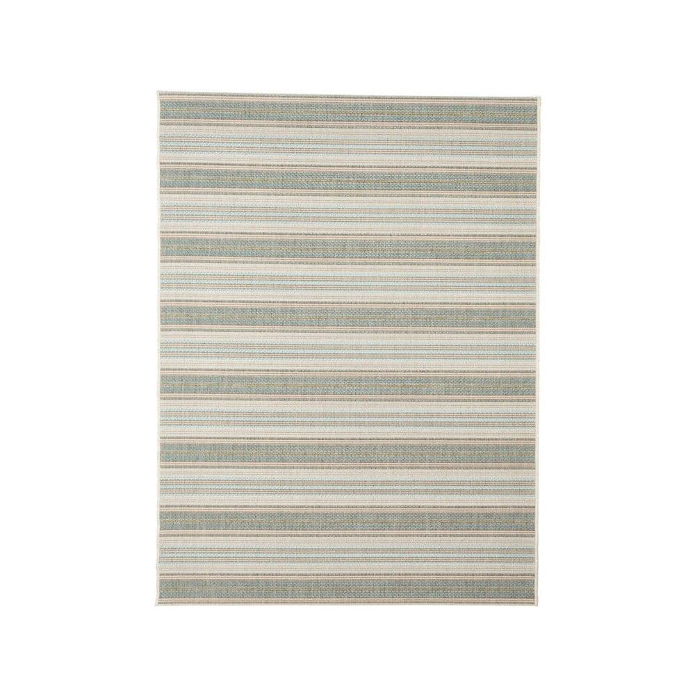 Covor adecvat pentru exterior Floorita Riga, 135 x 190 cm, bej - verde