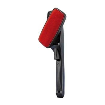 Perie pentru îndepărtarea părului cu cap rotativ Wenko Twist, negru - roșu bonami.ro