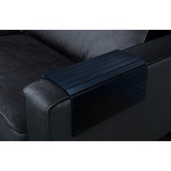 Cotieră flexibilă pentru canapea WOOOD, negru bonami.ro