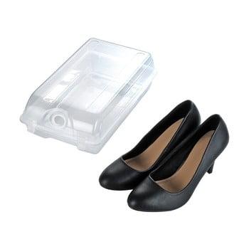 Cutie transparentă pentru depozitarea pantofilor Wenko Smart, lățime 19,5 cm poza bonami.ro