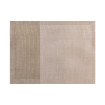 Șervet decorativ Tiseco Home Studio Jacquard, 45 x 33 cm, maro gri poza bonami.ro