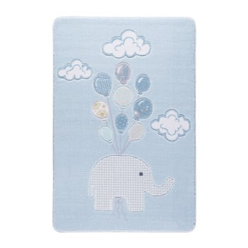 Covor pentru copii Sweet Elephant Azul, 133 x 190 cm imagine