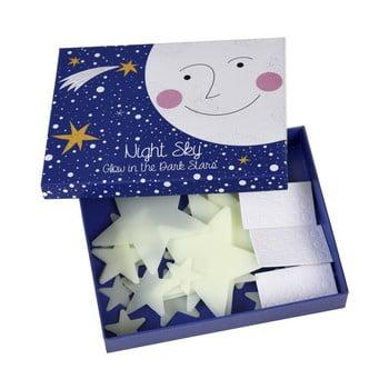 Set 30 decoraţiuni steluţe fosforescente Rex London bonami.ro