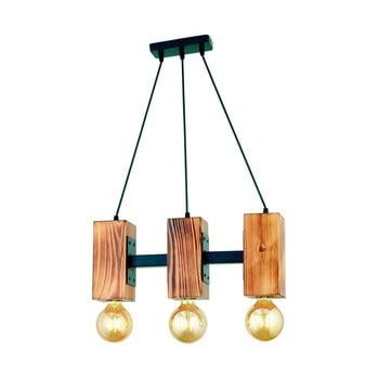 Lustră din lemn de carpen Carina Tres imagine