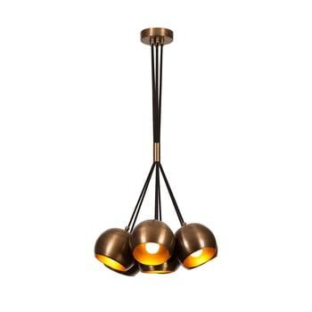 Lustră Opviq lights Sivani, bronz bonami.ro