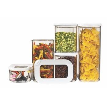 Set 5 cutii pentru depozitare alimente Rosti Mepal Modula Starter poza bonami.ro