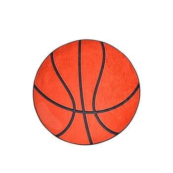 Covor antiderapant pentru copii Chilai Basketball,ø140cm, portocaliu bonami.ro