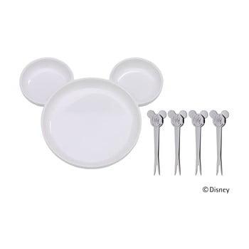 Set masă din 5 piese pentru copii WMF Cromargan® Mickey Mouse bonami.ro