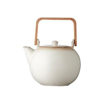 Ceainic din gresie ceramică Bitz Basics, 1,2 l, crem bonami.ro