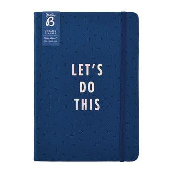 Agendă Busy B Vibrant Vbes, 365 pagini, albastru poza bonami.ro