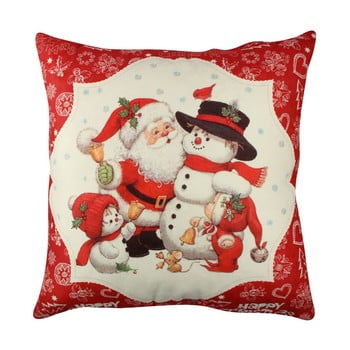 Pernă Christmas Family, 43x43cm poza bonami.ro